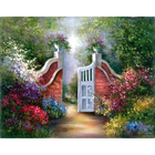Royal (art supplies) . ROY Garden Gate - Paint by Number 11 X 4