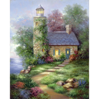 Royal (art supplies) . ROY Romantic Lighthouse - Paint by Number 11 X 4