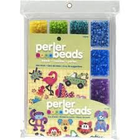 """Perler (beads) PRL """"Tray of Beads"""" with Perler Beads Idea Book 4000 pkg"""