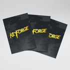 Sleeves: Keyforge Logo Matte Black (40)