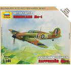 Zvezda Models . ZVE 1/44 British Fighter Hurricane Mk-1