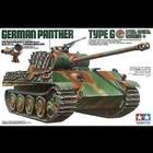 Tamiya America Inc. . TAM 1/35 Panther Type G Steel Wheel Tank,