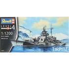 Revell of Germany . RVL 1/1200 Tirpitz