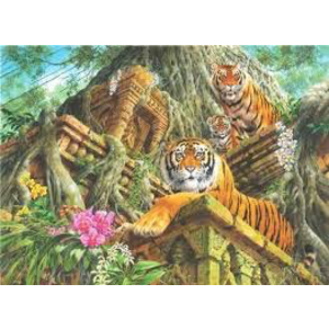 Anatolian . ANA Temple Tigers 1000Pc Puzzle