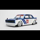 Jada Toys . JAD 1/24 1973 Datsun 510 - Candy Blue