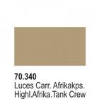 Vallejo Paints . VLJ Afrika Korps Highlights