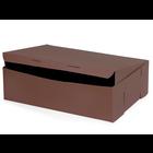Retail Supplies . RES 14 X 10 X 4 (12 Cupcakes) Cocoa Box