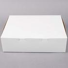 Retail Supplies . RES 14 X 10 X 4 White (12 Cupcakes)