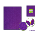 MultiCraft . MCI (DISC) Foamie Sheets Purple  9 x 12
