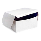 Retail Supplies . RES (DISC) - 7 x 7 x 4 White Bakery Box