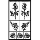 Armour Products (etch) . API Detailed Roses - Glass Etching Stencil