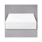 PLEASE CHOOSE 10 x 10 x 2.5 White Bakery Box