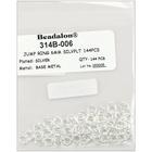 Beadalon . BDA Jump Rings 6mm 144/Pkg<br /> Silver-Plated