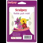 Sculpey/Polyform . SCU Flower & Leaves Push Mold
