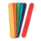 Darice . DAR Jumbo Multi-Color Craft Sticks