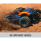 Traxxas Corp . TRA Traxxas Maxx with 4S ESC 1/10 Scale 4WD Brushless Electric Monster Truck