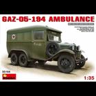 Miniart . MNA 1/35 GAZ-05-194 Ambulance