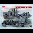 Icm . ICM 1/35 WWII German Drivers 1939-1945
