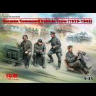 Icm . ICM 1/35 German Command Vehicle Crew WWII