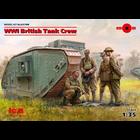 Icm . ICM 1/35 WWI British Tank Crew