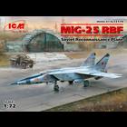 Icm . ICM 1/72 MiG-25 RBF Soviet Reconnaissance Plane