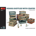Miniart . MNA 1/35 Vodka Bottles With Crates