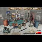 Miniart . MNA 1/35 Garage Workshop