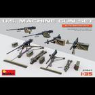 Miniart . MNA 1/35 US Machine Gun Set