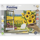 "Royal Brush . RBM Paint By Number Kit - ""Harvest Time"" 15.375"" X 11.25"""