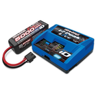 Traxxas Corp . TRA Traxxas EZ-Peak Live 100W Multi-Chemistry Battery Charger with 1 x 5000mAh 14.8V 4Cell 25C LiPo Battery
