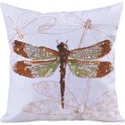 "Diamond Dotz Embroidery ""Dragonfly"" Pillow Kit"