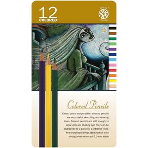 Pentalic . PTL 12 Coloured Pencil Set