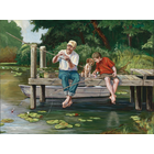 Outset Media . OUT On The Dock 1000pc Puzzle