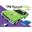 Skullduggery Inc. . SKD MPC 1974 Plymouth Road Runner 1:25 Scale Model Kit
