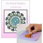 Quilled Creations . QUI Husking Board & Pin Board Book Combo
