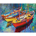 "Dream Boats Diamond Embroidery Facet Art Kit 21.5""X18"""