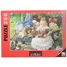 Anatolian . ANA Hollys Bears 260pc Puzzle