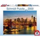 Schmidt Spiele . SSG New York 2000pc Puzzle