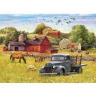 Cobble Hill . CBH Summer Afternoon on the Farm 1000 pc Puzzle