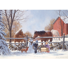 Cobble Hill . CBH Frostys Friends 350 pc Puzzle