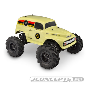 "J Concepts . JCO JConcepts 1951 Ford Panel Traxxas Stampede Body ""Grandma"""