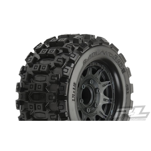 "PLEASE CHOOSE Pro-Line Badlands MX28 2.8"" MTD Raid Black 6x30 F/R"
