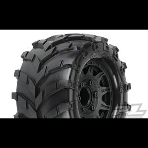 "Pro Line Racing . PRO Pro-Line Masher 2.8"" MTD Raid Black 6x30 F/R"