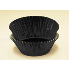 PLEASE CHOOSE Mini Black Foil Baking Cups