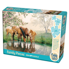 Cobble Hill . CBH Horse Family (Family) Puzzle