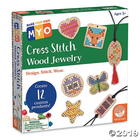 Outset Media . OUT Make Your Own Cross-Stitch  Wood Jewelry