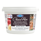 CK Products . CKP Satin Ice ChocoPan Bright White Modeling Chocolate, 1 lb