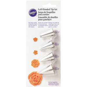 Wilton Products . WIL Specialty Tip Set - Left Handed