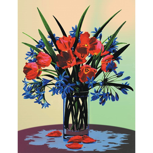 Royal (art supplies) . ROY Canvas Floral Still Life - Paint By Number