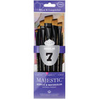 Royal Brush . RBM Majestic Angular Brush Set 7pc